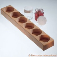 Image for <B>Paint Jar Wooden Holder </B><I> for six 50ml jars (not included)</I>