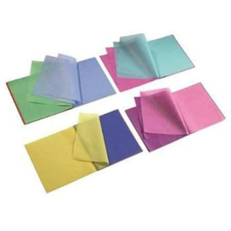 Image for <B>Japanese Silk Tissue Paper 16x16cm. </B><I> Assorted Block 240 Sheets</I>