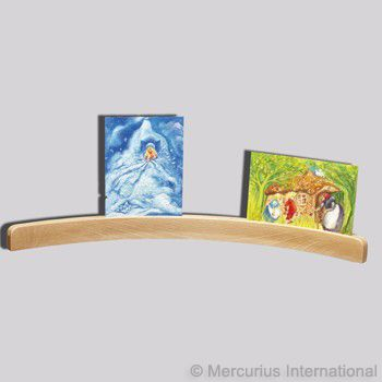 Image for <B>Cardholder Large Wooden Curved - 50cm </B><I> </I>