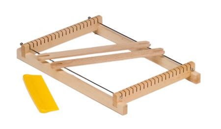 Image for <B>Wooden weaving frame, small </B><I> Weaving width up to 15cr</I>