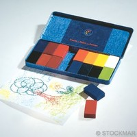 Image for <B>Stockmar Block Crayons 16 in Tin </B><I> </I>