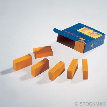 Image for <B>Stockmar Block Crayons - Yellow Green Box of 12 </B><I> </I>