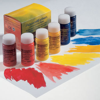 Image for <B>Stockmar Paint Basic assortment 6x20ml. </B><I> Primaries</I>