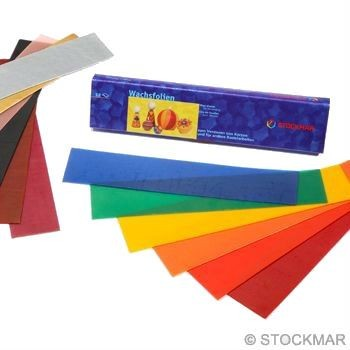 Image for <B>Stockmar Decorating Wax 12 Assorted 40x200-Small </B><I> </I>