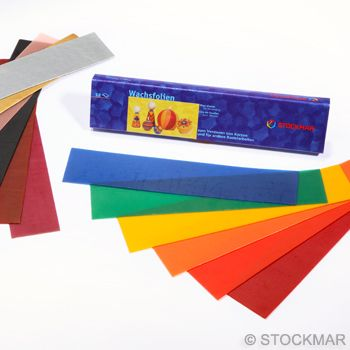 Image for <B>Stockmar Decorating Wax 18 Assorted 40x200-Small </B><I> </I>