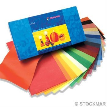 Image for <B>Stockmar Decorating Wax 18 Assorted 100x200mm-Wide </B><I> </I>