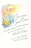 Image for <B>Sub-Nature and Super-Nature </B><I> The True Foundations of Nutrition</I>
