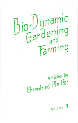 Image for <B>Bio-Dynamic Gardening and Farming  III </B><I> </I>