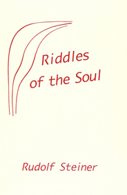 Image for <B>Riddles Of The Soul </B><I> (GA 21)</I>