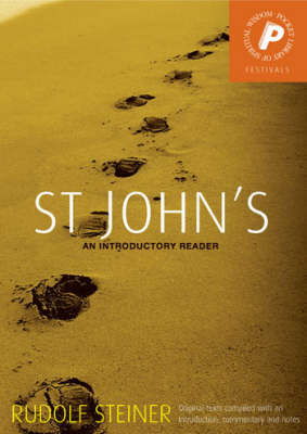 Image for <B>St John's </B><I> An Introductory Reader</I>