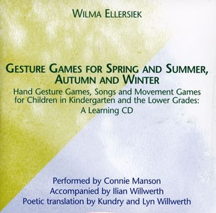 Image for <B>Gesture Games for Spring and Summer, Autumn and Winter CD </B><I> </I>