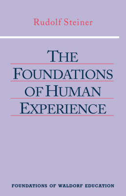 Image for <B>Foundations of Human Experience, The </B><I> </I>