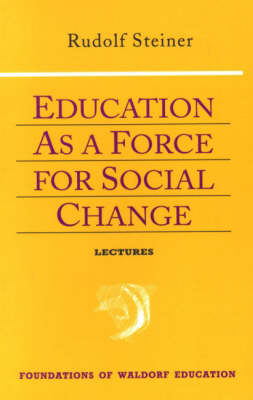 Image for <B>Education as a Force for Social Change </B><I> </I>