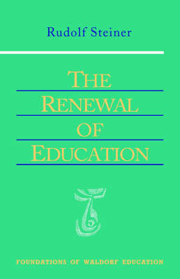 Image for <B>Renewal of Education </B><I> </I>