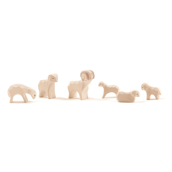 Image for <B>Sheep, small, 6 pieces </B><I> </I>