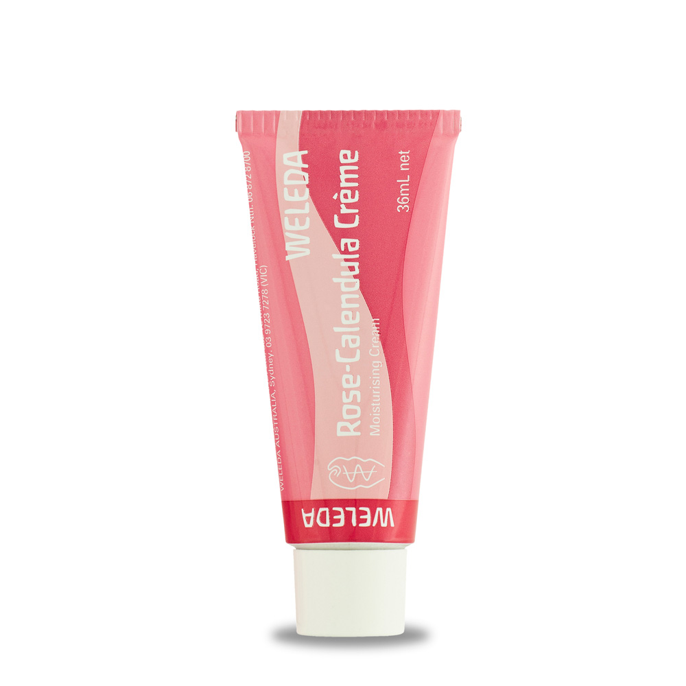 Image for <B>Weleda Rose Calendula Cream 36ml </B><I> Sensitive skin</I>