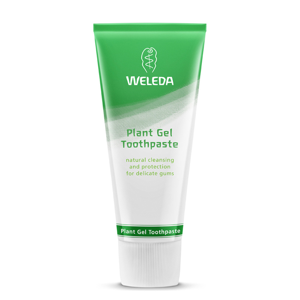Image for <B>Weleda Plant Gel Toothpaste 75ml </B><I> Natural cleaning and protection for delicate gums</I>