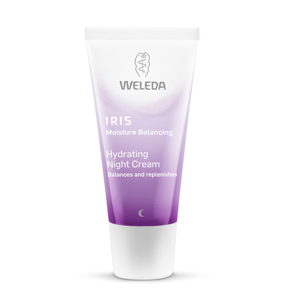 Image for <B>Weleda Iris Hydrating Night Cream, 30ml </B><I> </I>