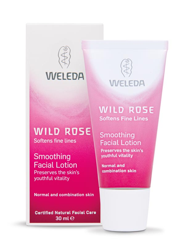 Image for <B>Wild Rose Smoothing Facial Lotion 30ml </B><I> </I>