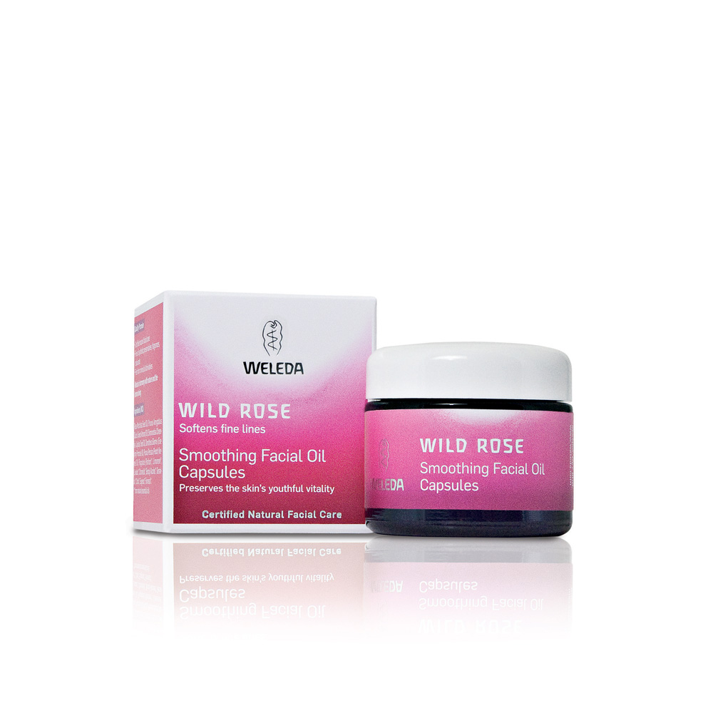 Image for <B>Wild Rose Smoothing Facial Oil Caps </B><I> </I>