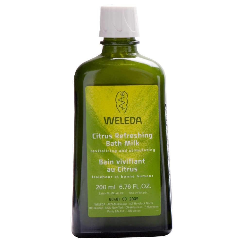 Image for <B>Weleda Citrus Refreshing Milk Bath 200ml </B><I> </I>
