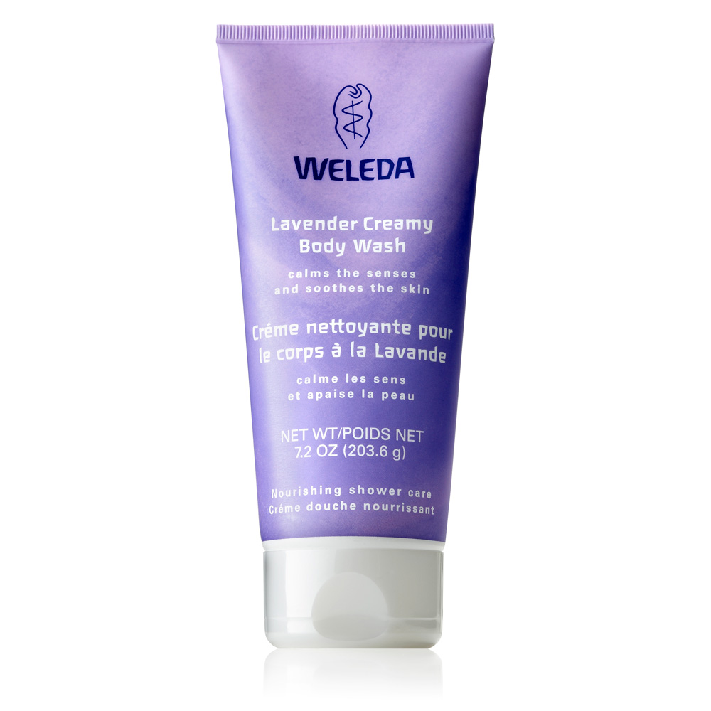 Image for <B>Weleda Lavender Creamy Body Wash 200ml </B><I> </I>