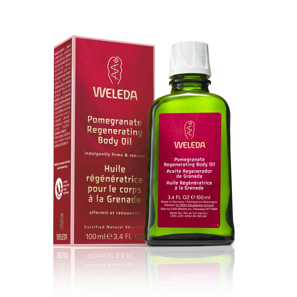 Image for <B>Weleda Pomegranate Regenerating Body Oil 100ml </B><I> </I>