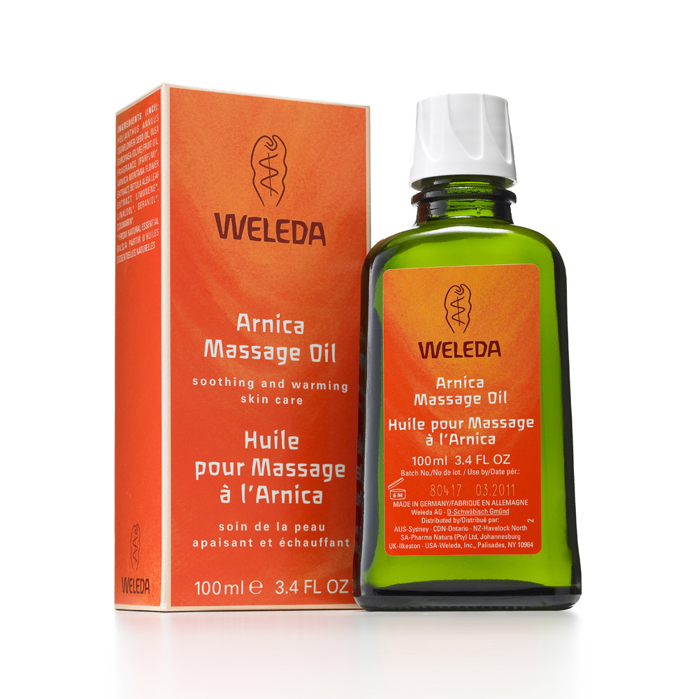 Image for <B>Weleda Arnica Massage Oil 100ml </B><I> </I>